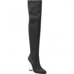 Muszkieterki KAZAR - Lavisa 34823-TK-00 Black. Czarne buty zimowe damskie Kazar, z materiału. Za 749,00 zł.