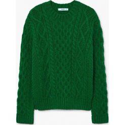Swetry damskie: Mango - Sweter Cabli