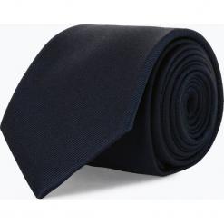 Andrew James - Krawat jedwabny męski, niebieski. Szare krawaty męskie marki Top Secret, eleganckie. Za 129,95 zł.