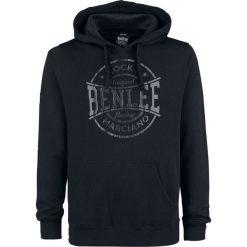 BenLee Romulus Bluza z kapturem czarny. Czarne bluzy męskie rozpinane BenLee, xxl, z nadrukiem, z materiału, z kapturem. Za 121,90 zł.