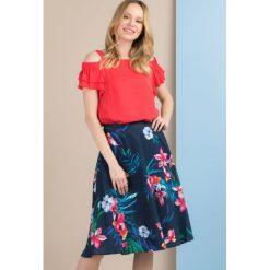 Spódniczki: Spódnica w barwne kwiaty