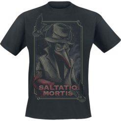 T-shirty męskie: Saltatio Mortis Pestdoktor T-Shirt czarny