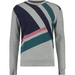 Swetry męskie: Jack & Jones JPRSMITH CREW NECK Sweter grey melange