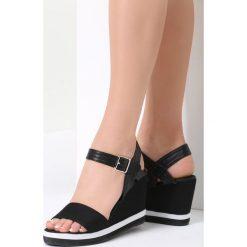 Czarne Sandały One Thing. Czarne sandały damskie vices, na koturnie. Za 79,99 zł.