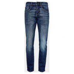S.Oliver Jeansy Męskie 36/34 Ciemnoniebieskie. Szare jeansy męskie relaxed fit marki S.Oliver, l, z bawełny, z klasycznym kołnierzykiem, z długim rękawem. Za 199,00 zł.