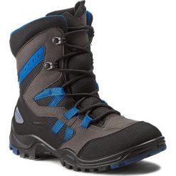Buty zimowe chłopięce: Śniegowce ECCO – Xpedition Kids 70465359653 Black/Poseidon/Slate