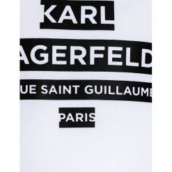 T-shirty chłopięce: KARL LAGERFELD Tshirt z nadrukiem weiß