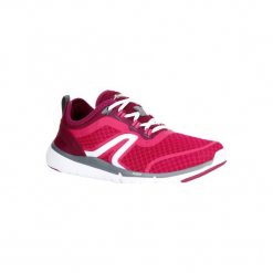 Buty do szybkiego marszu Soft 540 damskie. Czerwone buty do fitnessu damskie NEWFEEL, z gumy. Za 129,99 zł.