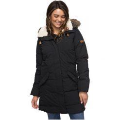 Roxy Damska Kurtka Zimowa Ellie True Black M. Białe kurtki damskie zimowe marki Roxy, l, z nadrukiem, z materiału. W wyprzedaży za 599,00 zł.