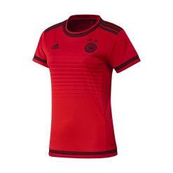KOSZULKA ADIDAS DFB WOMAN (S90315). Czarne bluzki damskie Adidas, s, z poliesteru, z krótkim rękawem. Za 101,99 zł.