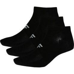 Skarpetki męskie: Skarpetki męskie (3 pary) SOM205 - głęboka czerń+głęboka czerń+głęboka czer