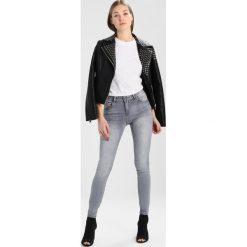 Vila VICOMMIT Jeans Skinny Fit grey denim. Szare jeansy damskie Vila. Za 209,00 zł.