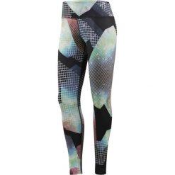 Reebok Spodnie damskie Lux Bold Tight BR Multikolor r. XS (BR2746). Szare spodnie sportowe damskie marki Reebok, l, z dzianiny, casualowe, z okrągłym kołnierzem. Za 189,90 zł.