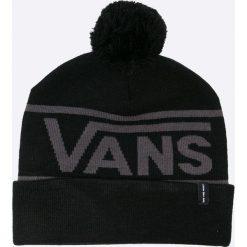 Vans - Czapka. Czarne czapki zimowe męskie marki Vans, z dzianiny. W wyprzedaży za 79,90 zł.