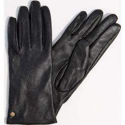 Skórzane rękawiczki - Czarny. Czarne rękawiczki damskie Mohito. Za 79,99 zł.