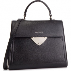 Torebka COCCINELLE - D05 B14 E1 D05 18 03 01 Noir 001. Czarne torebki klasyczne damskie marki Coccinelle, ze skóry, duże, bez dodatków. Za 1399,90 zł.