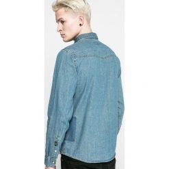 Blend - Koszula. Szare koszule męskie jeansowe Blend, m, z klasycznym kołnierzykiem, z długim rękawem. W wyprzedaży za 89,90 zł.