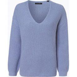 Marc O'Polo - Sweter damski z dodatkiem alpaki, niebieski. Niebieskie swetry klasyczne damskie Marc O'Polo, xl, z dzianiny, polo. Za 749,95 zł.