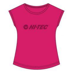 Hi-tec Koszulka Sportowa Damska Lady Kiki Beetroot Purple/Astral Aura r. L. Fioletowe topy sportowe damskie Hi-tec, l. Za 59,99 zł.