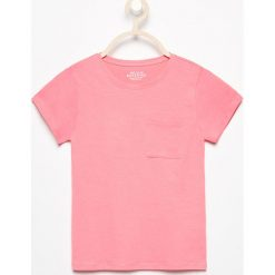 T-shirty damskie: T-shirt z kieszonką – Różowy
