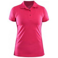 One Way Damska Koszulka Polo Short Sleeve Pique Pink Xs. Różowe topy sportowe damskie One Way, xs, z tkaniny. Za 99,00 zł.