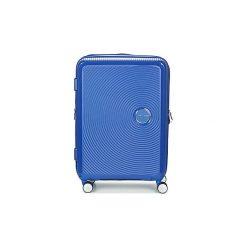 Walizki twarde American Tourister  SOUNDBOX 67CM 4R. Niebieskie walizki marki American Tourister. Za 639,00 zł.