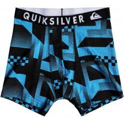 Quiksilver Bokserki Męskie Boxer Pack M Bxbr Ast Assorted L. Szare bokserki męskie marki Quiksilver, z bawełny. Za 145,00 zł.