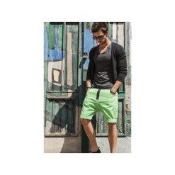 Button drill short pants krótkie spodenki zielone. Zielone bermudy męskie N/A, z materiału. Za 399,00 zł.