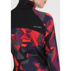 Spyder SHOWCASE Koszulka sportowa red camo/black. Czerwone bluzki sportowe damskie Spyder, s, z elastanu. W wyprzedaży za 377,10 zł.