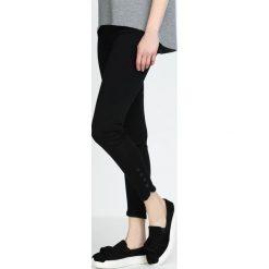 Rurki damskie: Czarna Spodnie Three Button