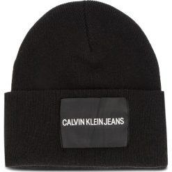 Czapka CALVIN KLEIN JEANS - J Calvin Klein Jeans K40K400759 001. Szare czapki damskie marki Calvin Klein Jeans, na zimę, z jeansu. Za 179,00 zł.