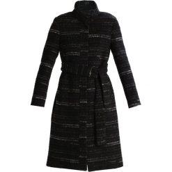 Płaszcze damskie pastelowe: Cortefiel COAT BELT Płaszcz wełniany /Płaszcz klasyczny mottled black