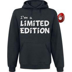 Limited Edition Bluza z kapturem czarny. Czarne bejsbolówki męskie Limited Edition, l, z kapturem. Za 99,90 zł.