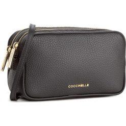 Torebka COCCINELLE - BH0 Surya Bubble E1 BH0 55 01 01 Noir 001. Brązowe listonoszki damskie marki Coccinelle, ze skóry. W wyprzedaży za 809,00 zł.