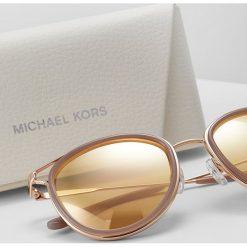 Michael Kors HAVANA Okulary przeciwsłoneczne liquid rose gold. Czerwone okulary przeciwsłoneczne damskie Michael Kors. Za 569,00 zł.