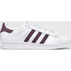 Adidas Originals - Buty Superstar W. Szare buty sportowe damskie adidas Originals, z materiału. W wyprzedaży za 319,90 zł.