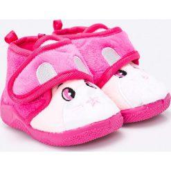 Blukids - Tenisówki dziecięce. Różowe trampki dziewczęce Blukids, z materiału. W wyprzedaży za 29,90 zł.
