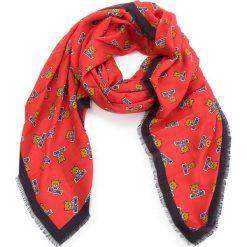 Chusta MOSCHINO - 03289 M1803 005. Czerwone chusty damskie MOSCHINO, z kaszmiru. Za 789,00 zł.