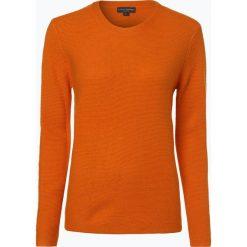 Franco Callegari - Damski sweter z wełny merino, pomarańczowy. Brązowe swetry klasyczne damskie Franco Callegari, xl, z materiału. Za 249,95 zł.