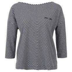 S.Oliver T-Shirt Damski 40 Czarny. Czarne t-shirty damskie marki S.Oliver, s, w paski. W wyprzedaży za 99,00 zł.