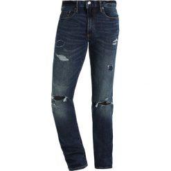 GAP Jeans Skinny Fit indigo destroy. Niebieskie jeansy męskie GAP. Za 299,00 zł.