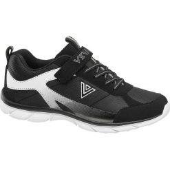 czarno białe sneakersy chłopięce Venice z zapięciem na rzep Venice czarno białe