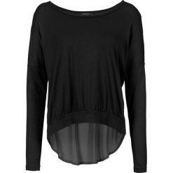 Bluzki asymetryczne: Bluzka z wycięciami bonprix czarny