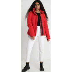 Superdry RIOT PADDED Kurtka zimowa rebel red. Szare kurtki damskie zimowe marki Superdry, l, z nadrukiem, z bawełny, z okrągłym kołnierzem. Za 549,00 zł.