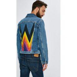Wrangler - Kurtka. Szare kurtki męskie jeansowe Wrangler, l. Za 499,90 zł.