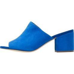 Chodaki damskie: Bianco Klapki blue