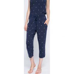 Dkny - Spodnie piżamowe. Szare piżamy damskie marki DKNY, m, z bawełny. W wyprzedaży za 139,90 zł.