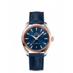 ZEGAREK OMEGA Seamaster Aqua Terra 150M 220.23.38.20.03.001. Szare zegarki męskie OMEGA, ze stali. Za 26800,00 zł.