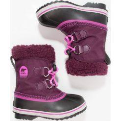 Sorel YOOT PAC Śniegowce purple dahlia/foxglove. Fioletowe buty zimowe damskie marki Sorel, z materiału. Za 299,00 zł.