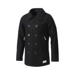 Płaszcz adidas Bonded Pea-Coat (G69152). Czarne płaszcze wełniane męskie marki Adidas, m. Za 567,99 zł.